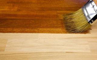 Как правильно выбрать мебельный лак?