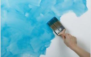 Как выбрать краску для окрашивания стен на кухне?